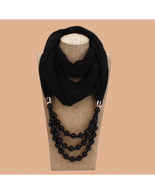 Hijab bijoux Perles nacrés